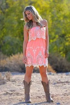 Love this look! Country girl!