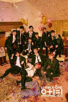 "Teaser )) Wanna One Mini Album (I Promise You)"" Group Teaser Photo Logo Kpop, Jinyoung, K Pop, Seong, Ong Seung Woo, Nothing Without You, Produce 101 Season 2, Kim Jaehwan, I Promise You"