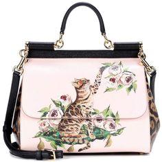 Top Handle Handbag, Nude Rose, Leather, 2017, one size Dolce & Gabbana