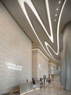 4348eebe484 Wangjing SOHO in Beijing. Zaha Hadid Architects. Zaha Hadid Architecture