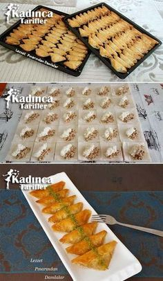 Baklava-Teig-Gebäck-Rezept, wie man - # wie # S . Pastry Recipes, Cake Recipes, Cooking Recipes, Salad Recipes, Arabic Dessert, Arabic Food, Cake Recipe Using Buttermilk, Most Delicious Recipe, Recipe Sites