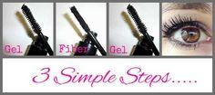 3D Fiber Mascara 3 simple steps to amazing lashes! Fabulashes2u.com