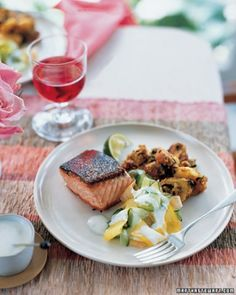 "See the ""Spiced Salmon Menu"" in our Summer Menus gallery"