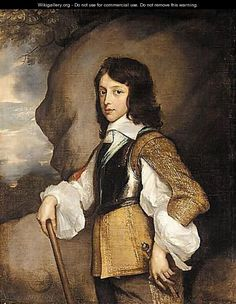 Prince Henry Stuart (1640 - 1660). Son of King Charles I and Queen Henrietta Maria.