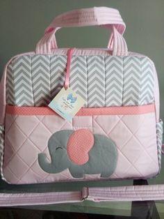 Bolsa Maternidade Elefante G #bolsas #bags #bolso #bolsos