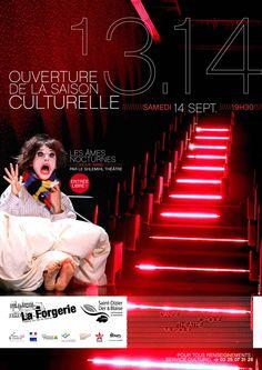 Saison culturelle 2013/2014 du théâtre de La Forgerie à Wassy.