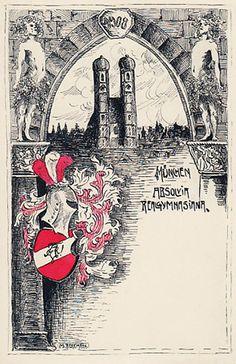 Absolvia Realgymnasium München 1908