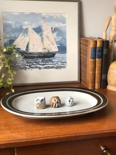 Excited to share this item from my shop: Arabia Karelia Finland Large oval Serving Platter Uosikkinen Hand Painted Stoneware Brown Rim Scandinavian Design Coffee Set, Serving Platters, Scandinavian Design, Finland, Stoneware, Hand Painted, Etsy Shop, Brown, Painting