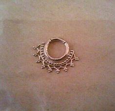 ornate septum ring // instagram: @scylla_chicago