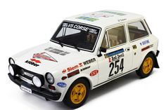 Autobianchi A112 Abarth Rally 1:18 Valli Piacentine 1978 LM091A Laudoracing