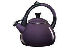 Le Creuset Enameled Steel Oolong Tea Kettle, 1.6-Quart, Cassis