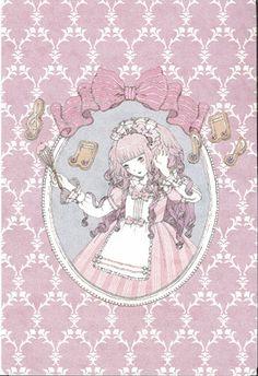 """""""Dolcemente Biscotto"""" Postcard from Imai Kira (#PC71) - Lolita Desu"""