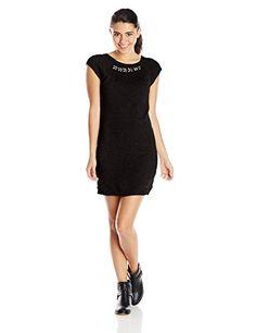 US Polo Assn Juniors Jewel Neckline Sweater Dress Black Combo Large      Continue to 6f8cc413e
