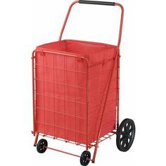 Sandusky 4-Wheel Folding Cart with Liner, FSC4021 - Walmart.com