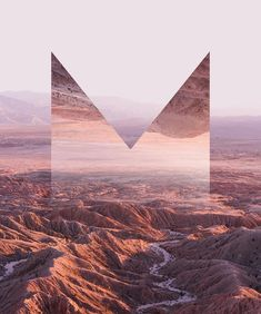(3/3) LAST BUT NOT LEAST I FUCKING LOVE THE DESERT. I had never been to one before I was commissioned to do this project and I cannot wait to go back. This final letterform M is my fav of the 3. I think thats because Ive never been to a more beautiful place than Anza-Borrego. We did some crazy badass off-roading in a Jeep to get to this spot. Anyways they live all together as the logo you can see them 3x across as they are intended to be in my profile or see the full finished piece on my…