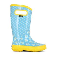 Bogs Boots for kids -Easy pull-on handles and a non-slip outsole for little ones