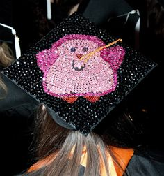 I wonder if i have time to do this. hmmmm- graduation cap ideas