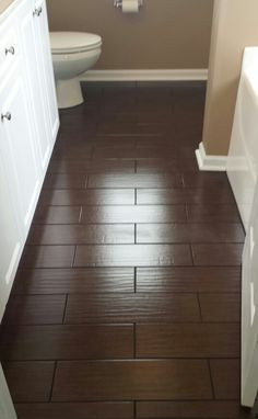 My New Wood Look Ceramic Tile Floor