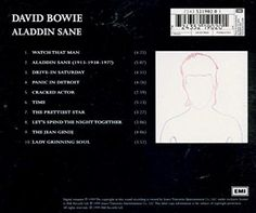 David Bowie - Aladdin Sane - Amazon.com Music