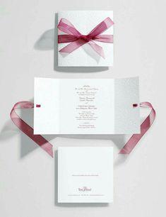 DIY easy for ceremony invite