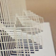 #concertina #3D #popup #paper  #popupology #elod #beregszaszi #elodberegszaszi #papershapers  #origami #origamic #origamicarchitecture #kirigami #kiriorigami #kineticpaper #fold #FoldForm #foldesign #london #eastlondon #uk