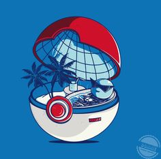 Squirtle inside a Poke Ball.