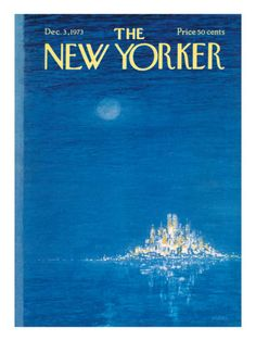 The New Yorker Cover - December 3, 1973 Poster Print by Robert Weber at the Condé Nast Collection