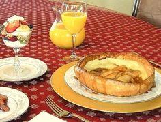 Breakfast at The DreamGiver's Inn, Newberg, Oregon