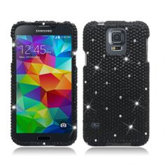 """""""Shine Bright Like A Diamond!!!"""" Get a diamond case for your Samsung Galaxy S5. Available at Whole Cell Accessories."""