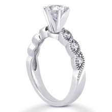 This beautiful engagement ring is simply perfect. TW of G-SI side stones. Matching Wedding Bands, Beautiful Engagement Rings, Stones, Diamond, Jewelry, Jewellery Making, Rocks, Jewerly, Jewelery
