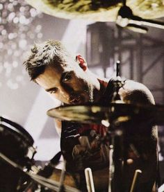 Shannon and his drums ~ probably my 2 favourite things in the world!