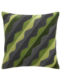 The next best thing to a brand-new couch? A pretty pillow that makes you love your old one again. Pillow, $49.95; crateandbarrel.com.