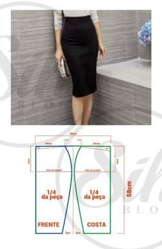 Skirt diy pattern tuto jupe 22 new Ideas Skirt Patterns Sewing, Vintage Sewing Patterns, Clothing Patterns, Pattern Sewing, Sewing Clothes, Diy Clothes, Vintage Fabrics, Pattern Fashion, Skirts