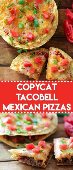 Copycat TacoBell Mexican Pizza lets you skip the drive thru and make this delicious favorite at home! I have the secret to making them taste just right! #copycat #tacobell #mexicanpizza #easydinner #taco #tacotuesday