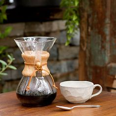 The sleeky, geeky Chemex maker is manufactured in Pittsfield. And is sweeping the thirdwave nation.