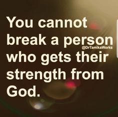 Don't EVER forget that with GOD NOBODY can break you!❤ #Amentothat Prayer Quotes, Spiritual Quotes, Faith Quotes, Bible Quotes, Positive Quotes, Motivational Quotes, Inspirational Quotes, Quotes About God, Quotes To Live By