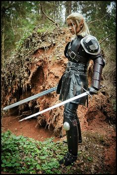 cool! art-of-swords:    Swords in Cosplay  Dragon Age:Origins-Assassin by ~love-squad