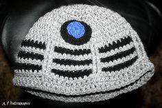 Ravelry: Crochet Dalek Hat pattern by Acquanetta Ferguson