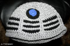 Ravelry: Crochet Dalek Hat pattern for Emma to do for J!