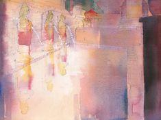 Watercolour Painting, David, Abstract, Artwork, Summary, Work Of Art