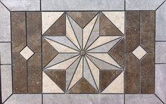 Shop Allen Roth Genuine Stone White Marble Natural Stone Mosaic - Daltile clovis