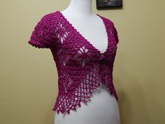 Bolero Bugambilia Crochet parte 3 de 3 ~ **Free Video Tutorial ~ Part 3/3**