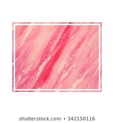 Similar Images, Stock Photos & Vectors of Abstract pink brush background with rectangle geometric frame rose gold color. Logo background for beauty and fashion - 1316150948 Watercolor Brushes, Watercolor Design, Pink Watercolor, Brush Background, Logo Background, Watercolor Postcard, Rose Gold Color, Design Elements, Vectors