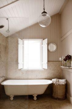 simple & pretty cottage bathroom