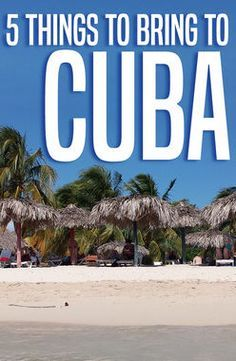 ViaHero   5 Things to Bring to Cuba