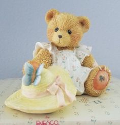 RARE+Cherished+Teddies+COURTNEY~SPRINGTIME+IS+A+BLESSING+FROM+ABOVE+#916390+NIB++