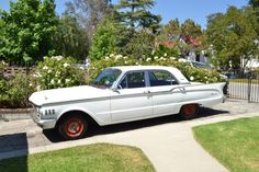 1961 Mercury Comet-this was my 1st car. I paid $500 for one that looked just like this, minus the red rims.