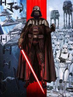 Darth Vader by Brent Woodside #starwars