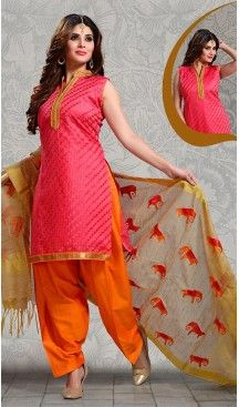 Deep #Pink Color Straight Cut #Chanderi #Silk Punjabi Patiyala Readymade Dresses   FH500576575 #punjabi , #patiyala, shindhi, #suits, #narrow, #dresses, #salwar, #kameez, #straight, #long, #heenastyle, #indian, #online, #shopping, #clothing, #womens, #girls, #style, #mode, #henna, #hina, #mehendi, #dupatta, #chudidar, @heenastyle , #pakistani, #readymade