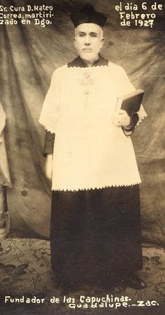 UN TINTE MÁS DE GLORIA. EL MÁRTIR MEXICANO DEL SECRETO DE CONFESIÓN  San Mateo Correa Magallanes  http://siag.org.mx/siag/un-tinte-mas-de-gloria-el-martir-mexicano-del-secreto-de-confesion/